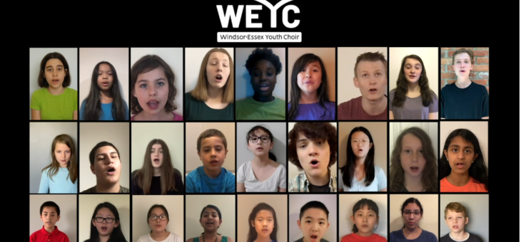 WEYC Virtual Choir Project: Bersatu senada (Tracy Wong)